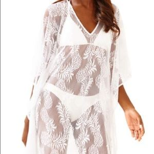 Lilly Pulitzer Pineapple Lace Beach Cover up